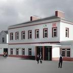 Bild von Pinneberger Bahnhof mit Fahrradparkhaus